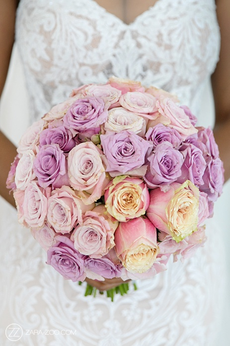 Wedding Bouquet Pink Blush Roses