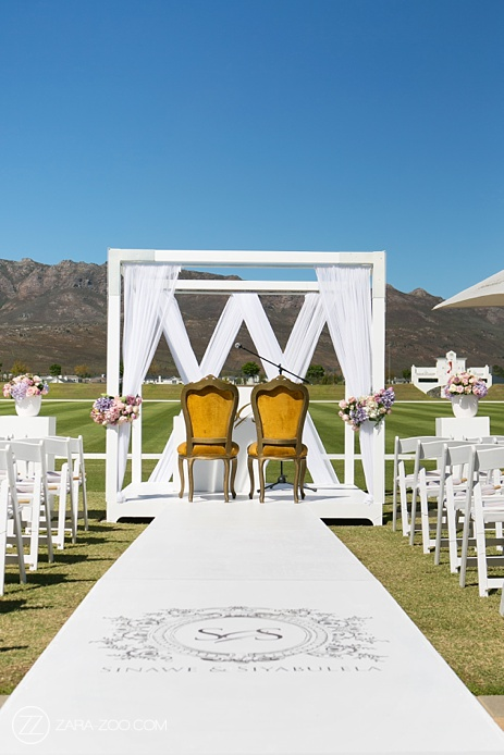 Outdoor Wedding Ceremony Decor Canopy