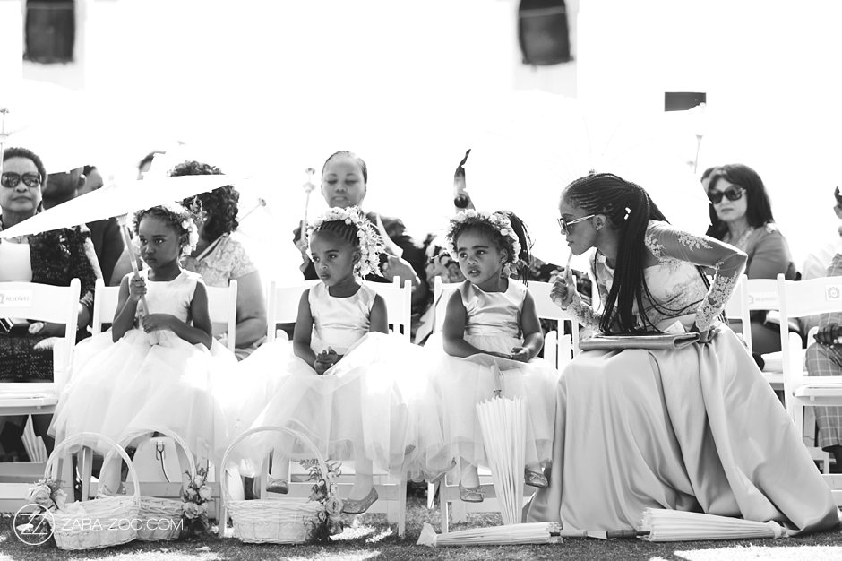 Cute Kids at a Wedding Cape Town