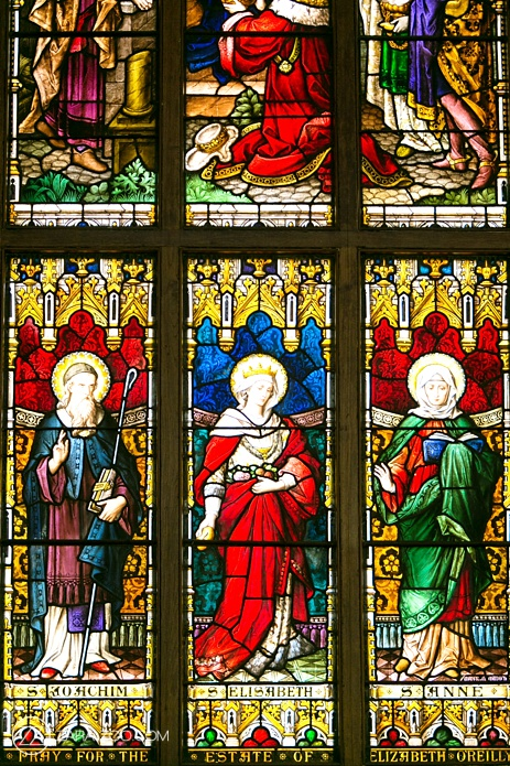 Catholic Church Stained Glass Windows