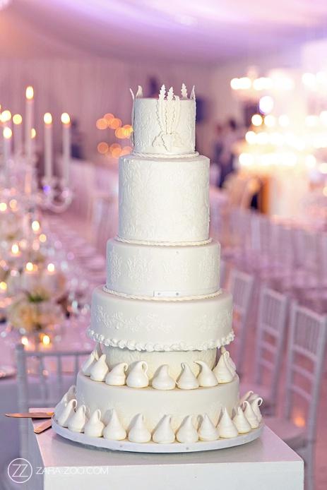 Wedding Cake at Lourensford
