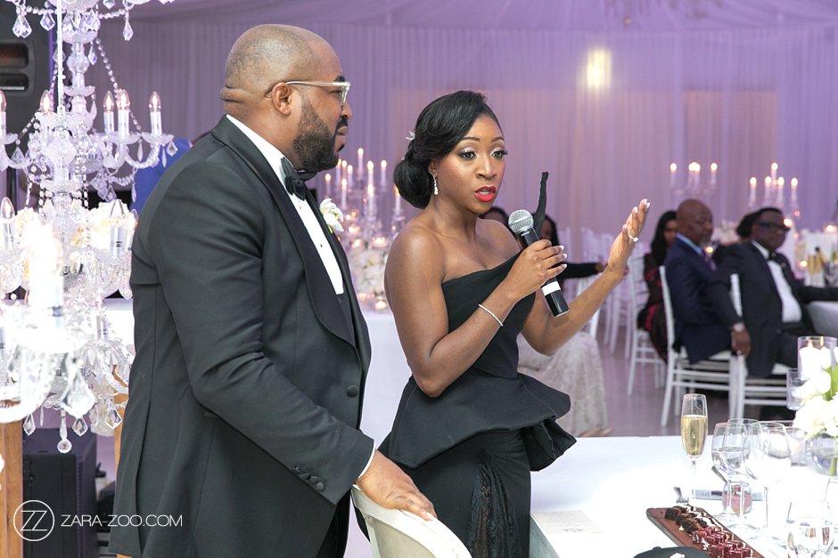 Wedding Couple Speeches Photo