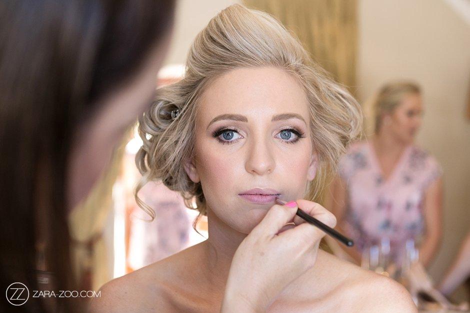 Wedding Photos Bride Makeup Preparations