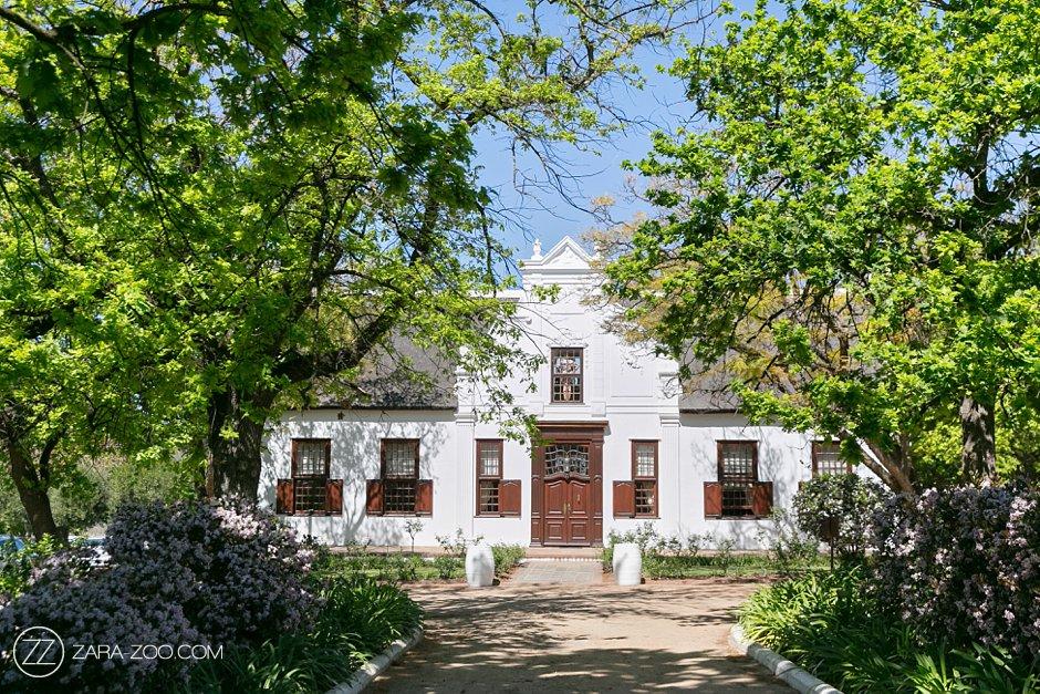 Vrede en Lust Estate Franschhoek