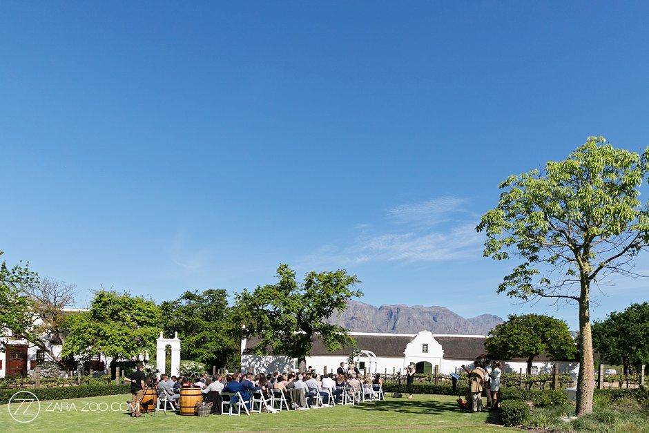Beautiful Wedding in Cape Winelands Franschhoek