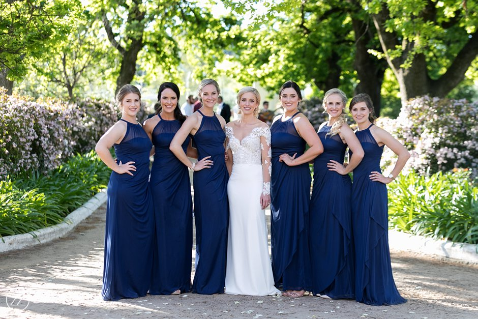 Bride and Bridesmaids Wedding Photos