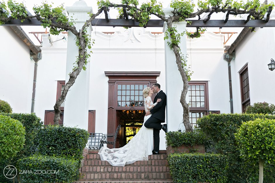 Vrede and Lust Wine Estate Wedding Photo