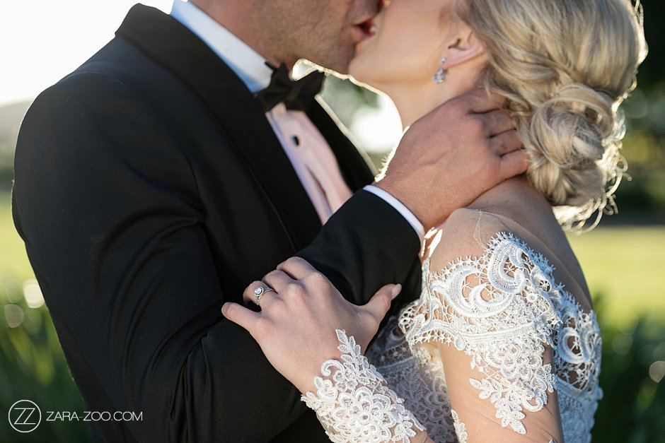 ZaraZoo Wedding Photographers Couple Kiss