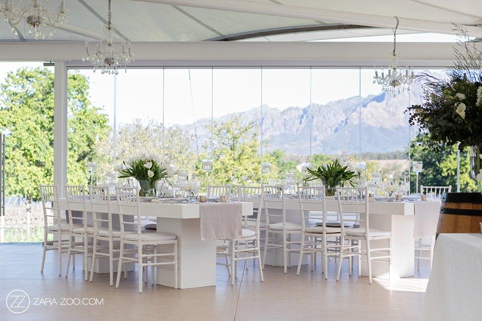 Vrede en Lust Wedding Wedding Decor Reception