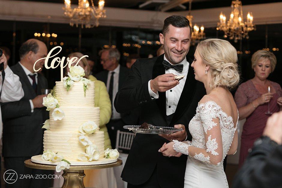 Vrede en Lust Wedding Cake