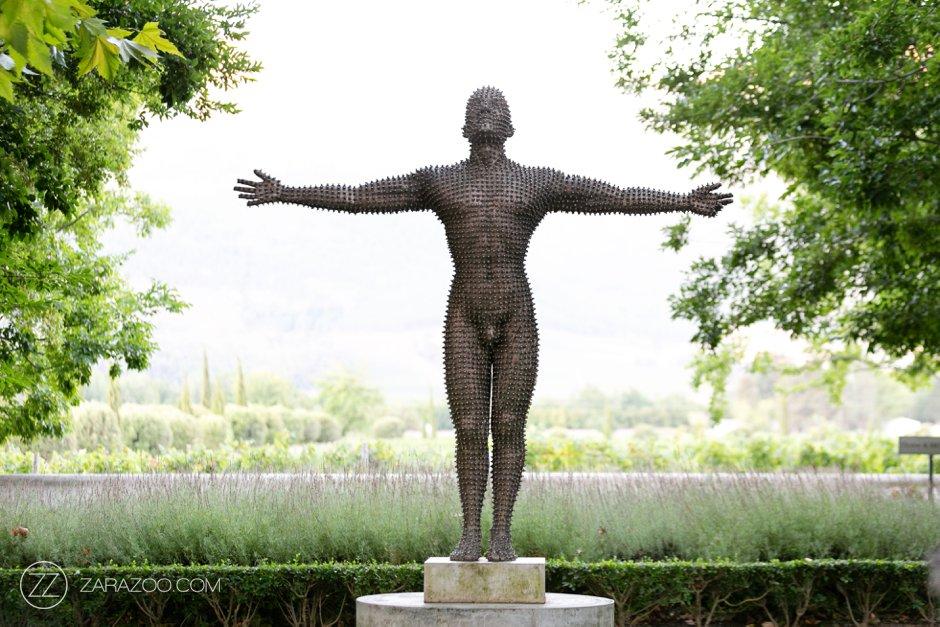 Wedding at Grande Provence - Anton Smit Sculpture