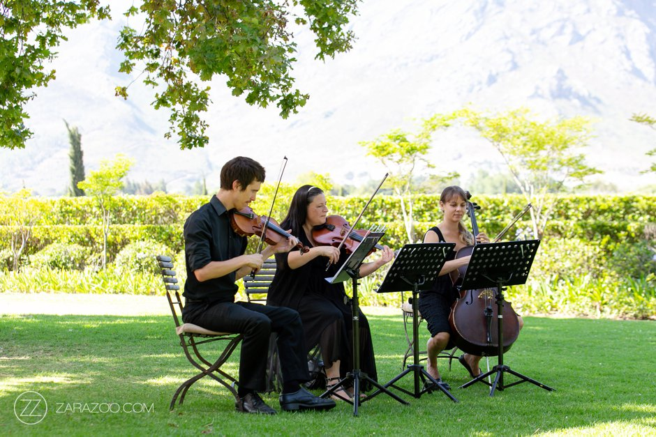 Wedding at Grande Provence - Simply Strings