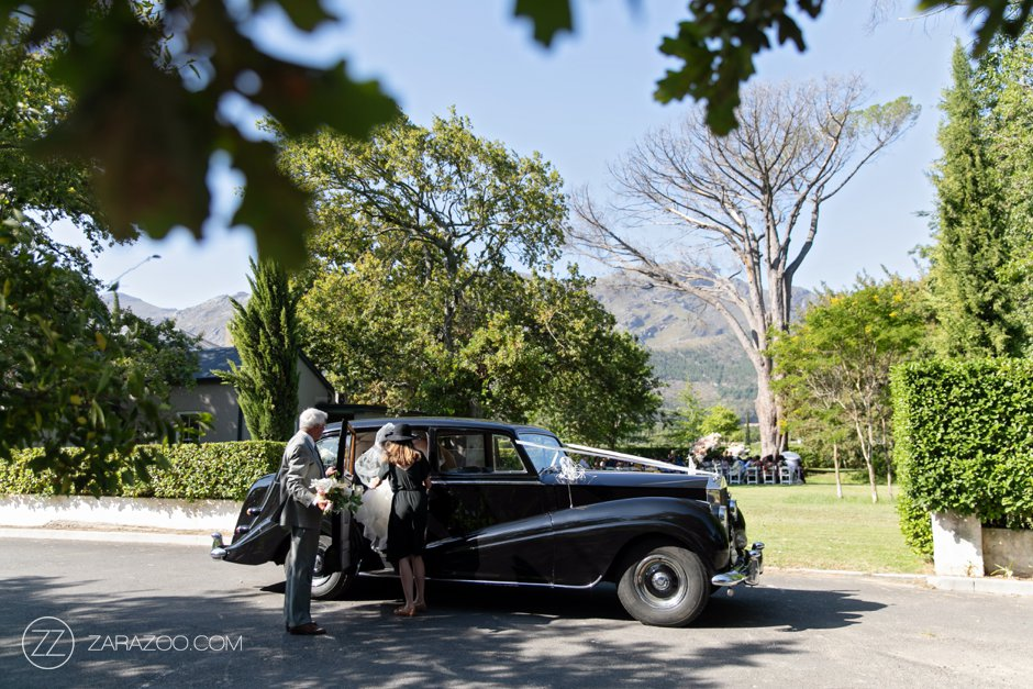 Wedding at Grande Provence - SA Classics Bentley