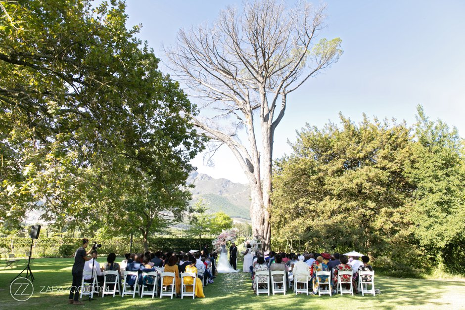 Wedding at Grande Provence - Outdoor Ceremony
