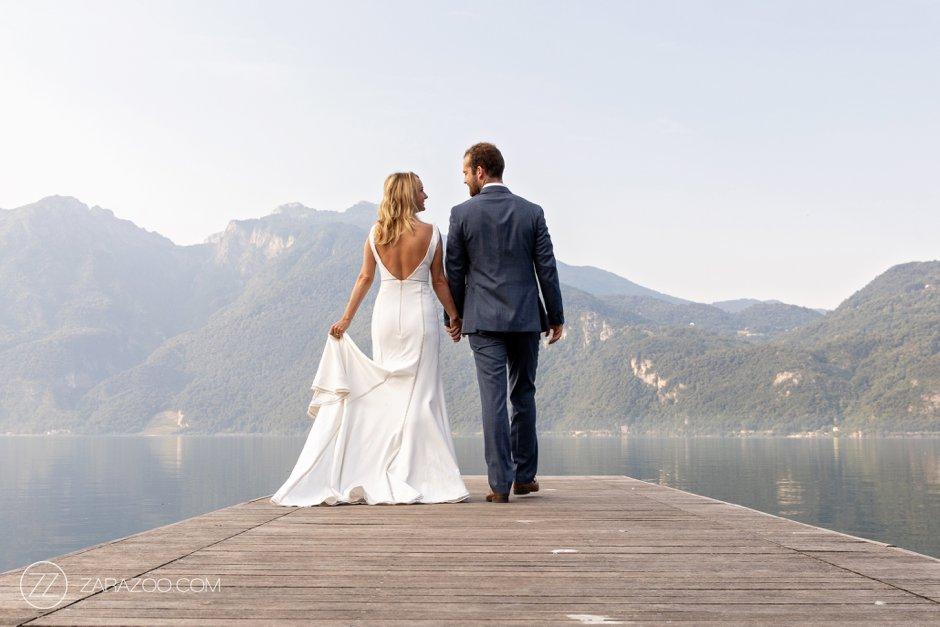 Mandello del Lario - Lake Como Destination Wedding Photos