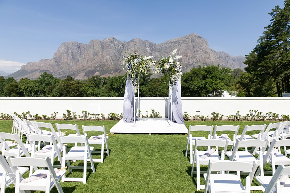 Getting Married in Cape Town - Molenvliet Estate