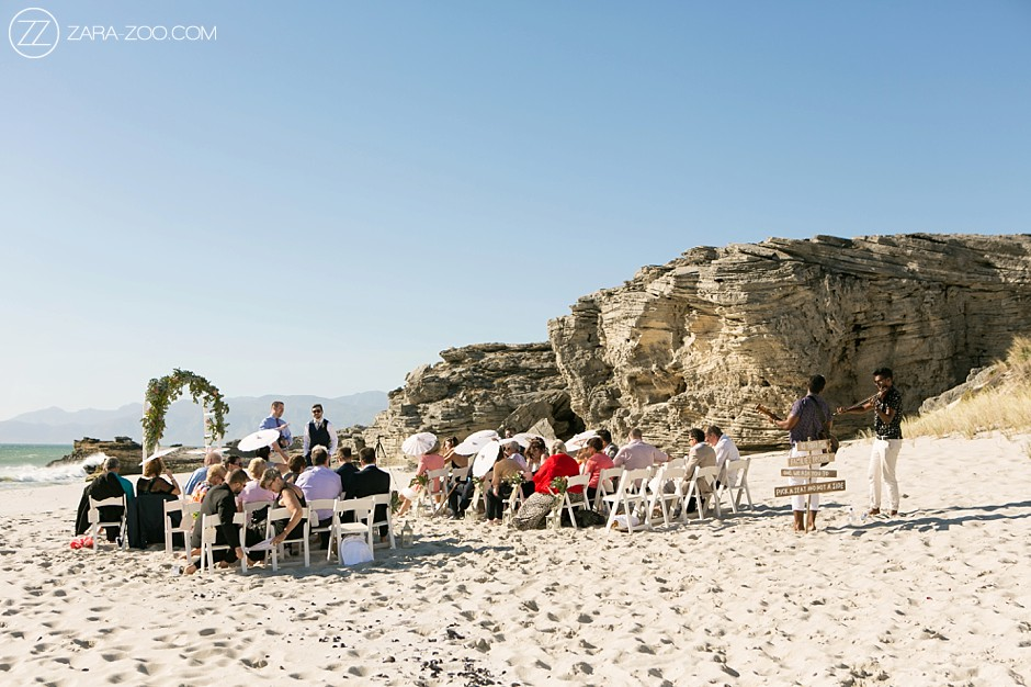 Getting Married in Cape Town - Beach Ceremony