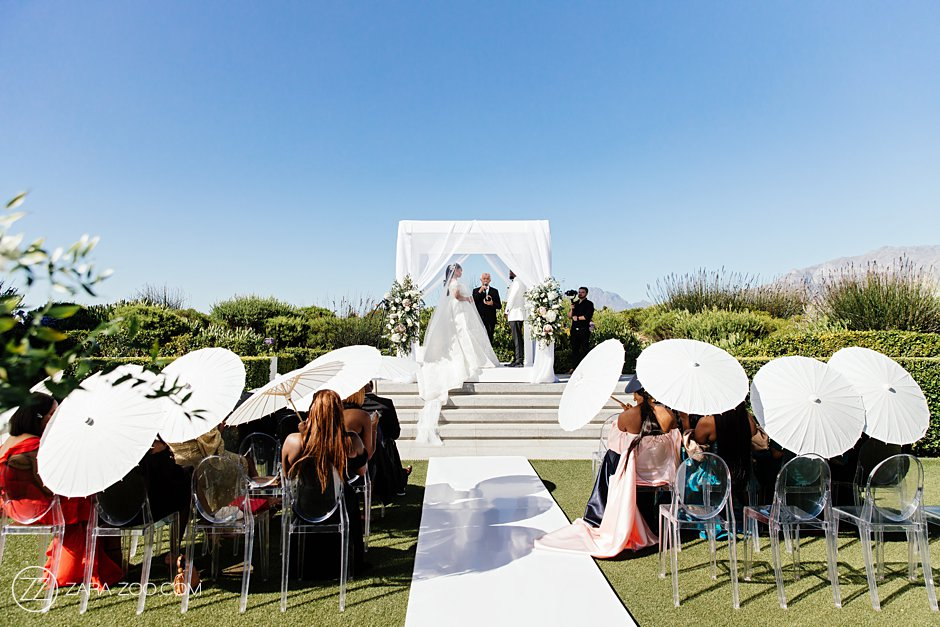 Intimate wedding pictures at Cavalli